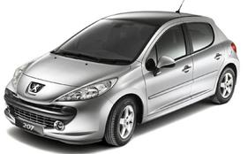 Peugeot 207 Autoradio DVD Player GPS Navigation | Multimedia-Navigationssystem Autoradio DVD Player Speziell für Peugeot 207