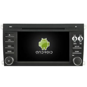 Porsche Cayenne Android 6.0 Autoradio GPS Navigationsysteme mit Octa-Core 2G Ram Touchscreen Bluetooth Freisprecheinrichtung Mikrofon DAB+ RDS CD SD USB 4G Wifi TV MirrorLink OBD2 - Android 6.0.1 Autoradio DVD Player GPS Navigation für Porsche Cayenne