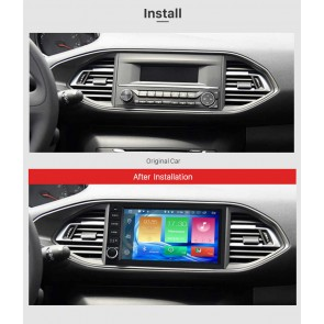 peugeot 308 autoradio gps dvd navigation navi autoradio gps navi dvd player navigation f r. Black Bedroom Furniture Sets. Home Design Ideas