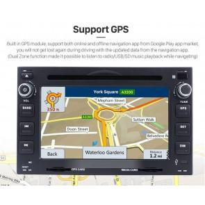 Skoda Octavia Android 7.1 Autoradio GPS Navigationsysteme mit 2G Ram Touchscreen Bluetooth Freisprecheinrichtung Mikrofon DAB+ RDS CD SD USB 4G Wifi TV MirrorLink OBD2 - Android 7.1.1 Autoradio DVD Player GPS Navigation für Skoda Octavia I (1996-2010)