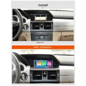 mercedes glk x204 autoradio gps dvd navigation navi. Black Bedroom Furniture Sets. Home Design Ideas