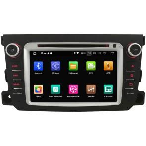 smart forfour autoradio gps dvd navigation navi autoradio. Black Bedroom Furniture Sets. Home Design Ideas