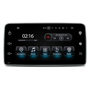 Android 7.1.2 Autoradio DVD Player GPS Navigation für Smart Fortwo/Forfour (Ab 2015)-1