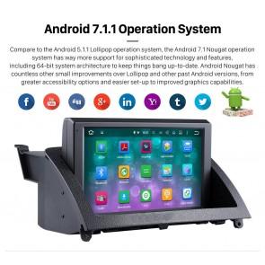 Android 7.1.1 Autoradio DVD Player GPS Navigation für Mercedes C-Klasse W204 (2007-2011)-1