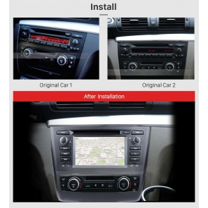bmw 1er e88 autoradio gps dvd navigation navi autoradio. Black Bedroom Furniture Sets. Home Design Ideas