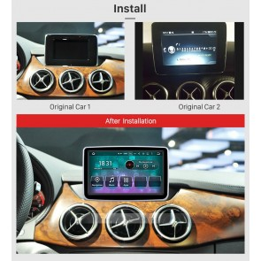 Mercedes A-Klasse Android 7.1 Autoradio GPS Navigationsysteme mit 2G Ram Touchscreen Bluetooth Freisprecheinrichtung Mikrofon DAB+ RDS CD SD USB 4G Wifi TV MirrorLink OBD2 - Android 7.1.2 Autoradio DVD Player GPS Navigation für Mercedes A-Klasse (Ab 2016)