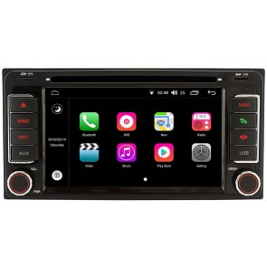 toyota hiace autoradio android dvd gps navigation android. Black Bedroom Furniture Sets. Home Design Ideas